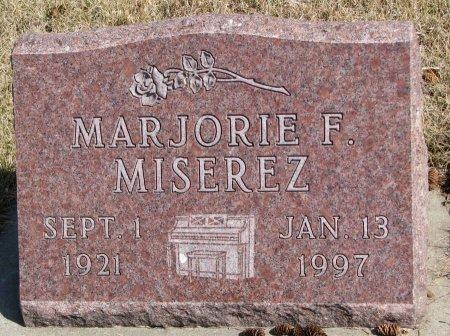 JOHNSON MISEREZ, MARJORIE FERN - Burt County, Nebraska | MARJORIE FERN JOHNSON MISEREZ - Nebraska Gravestone Photos