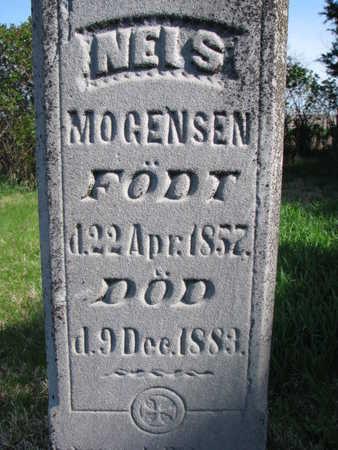 MOGENSEN, NELS (CLOSEUP) - Burt County, Nebraska | NELS (CLOSEUP) MOGENSEN - Nebraska Gravestone Photos
