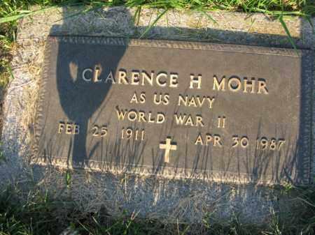 MOHR, CLARENCE H. - Burt County, Nebraska | CLARENCE H. MOHR - Nebraska Gravestone Photos
