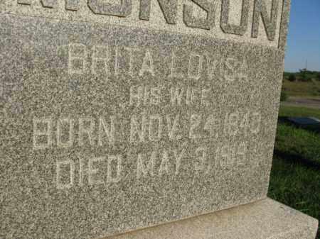 MONSON, BRITA LOUISA - Burt County, Nebraska | BRITA LOUISA MONSON - Nebraska Gravestone Photos