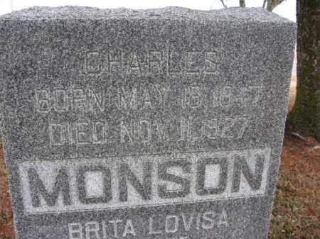 MONSON, CHARLES - Burt County, Nebraska | CHARLES MONSON - Nebraska Gravestone Photos