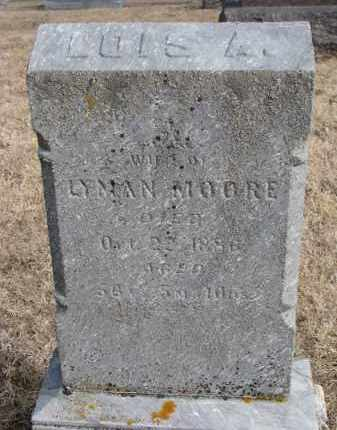 MOORE, LOIS A. - Burt County, Nebraska   LOIS A. MOORE - Nebraska Gravestone Photos