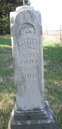 MOGENSEN, NELLIE MATINE - Burt County, Nebraska | NELLIE MATINE MOGENSEN - Nebraska Gravestone Photos