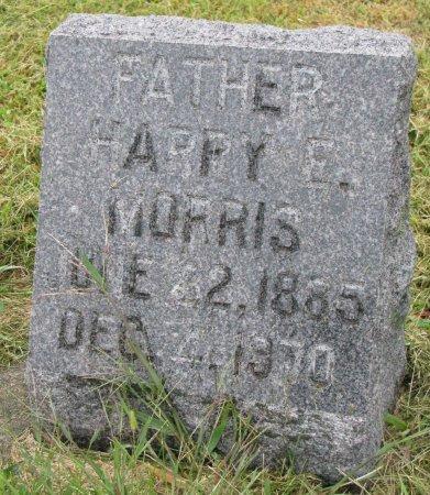 MORRIS, HARRY E. - Burt County, Nebraska | HARRY E. MORRIS - Nebraska Gravestone Photos