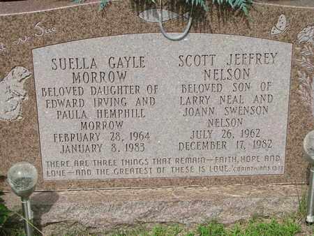 NELSON, SCOTT JEFFREY - Burt County, Nebraska   SCOTT JEFFREY NELSON - Nebraska Gravestone Photos