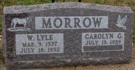 MORROW, CAROLYN G. - Burt County, Nebraska | CAROLYN G. MORROW - Nebraska Gravestone Photos