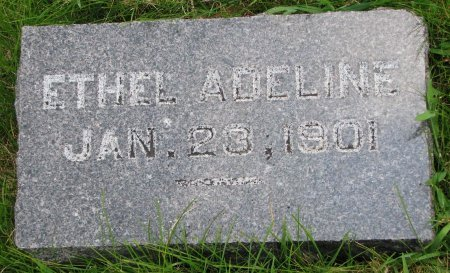 MORSE, ETHEL ADELINE - Burt County, Nebraska | ETHEL ADELINE MORSE - Nebraska Gravestone Photos