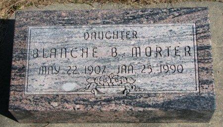 MORTER, BLANCHE B. - Burt County, Nebraska   BLANCHE B. MORTER - Nebraska Gravestone Photos