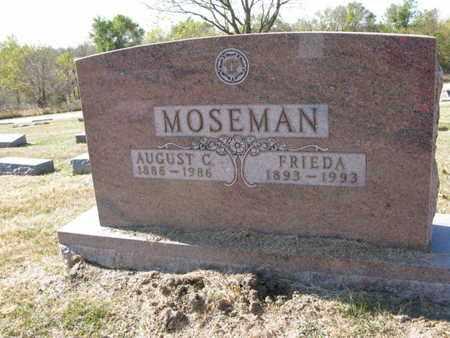 MOSEMAN, AUGUST C. - Burt County, Nebraska   AUGUST C. MOSEMAN - Nebraska Gravestone Photos