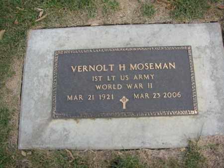 MOSEMAN, VERNOLT H. - Burt County, Nebraska | VERNOLT H. MOSEMAN - Nebraska Gravestone Photos