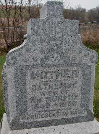 MURPHY, CATHERINE - Burt County, Nebraska | CATHERINE MURPHY - Nebraska Gravestone Photos