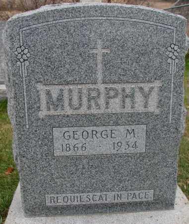 MURPHY, GEORGE M. - Burt County, Nebraska | GEORGE M. MURPHY - Nebraska Gravestone Photos