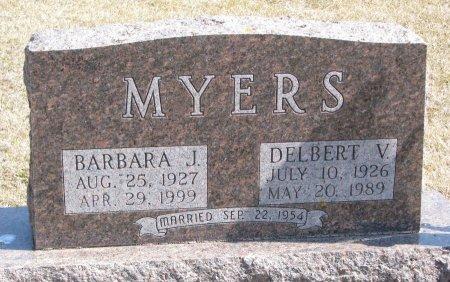 MYERS, BARBARA J. - Burt County, Nebraska   BARBARA J. MYERS - Nebraska Gravestone Photos
