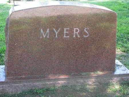 MYERS, (FAMILY MONUMENT) - Burt County, Nebraska | (FAMILY MONUMENT) MYERS - Nebraska Gravestone Photos