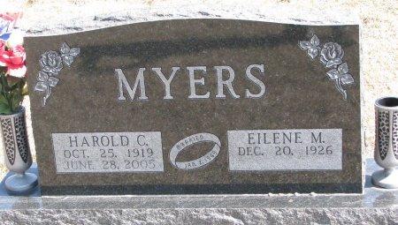 MYERS, EILENE M. - Burt County, Nebraska | EILENE M. MYERS - Nebraska Gravestone Photos