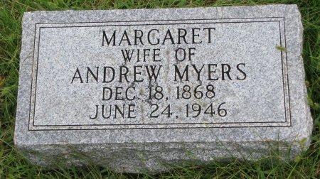 MYERS, MARGARET - Burt County, Nebraska   MARGARET MYERS - Nebraska Gravestone Photos
