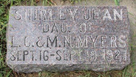 MYERS, SHIRLEY JEAN - Burt County, Nebraska   SHIRLEY JEAN MYERS - Nebraska Gravestone Photos