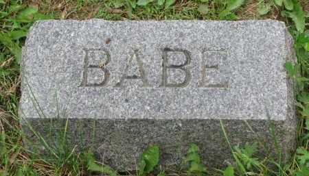 NEARY, BABE - Burt County, Nebraska | BABE NEARY - Nebraska Gravestone Photos