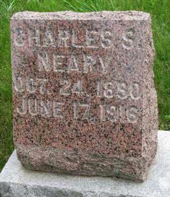 NEARY, CHARLES S. - Burt County, Nebraska | CHARLES S. NEARY - Nebraska Gravestone Photos
