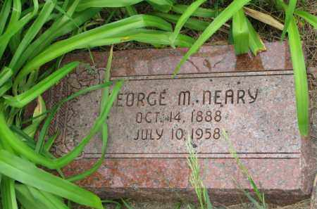NEARY, GEORGE M. - Burt County, Nebraska | GEORGE M. NEARY - Nebraska Gravestone Photos