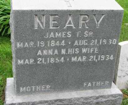 NEARY, JAMES T. SR. - Burt County, Nebraska   JAMES T. SR. NEARY - Nebraska Gravestone Photos