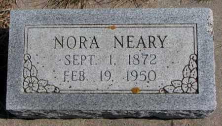 NEARY, NORA - Burt County, Nebraska | NORA NEARY - Nebraska Gravestone Photos