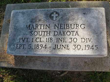 NEIBURG, MARTIN - Burt County, Nebraska | MARTIN NEIBURG - Nebraska Gravestone Photos