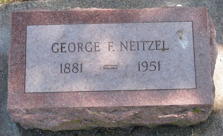 NEITZEL, GEORGE F. - Burt County, Nebraska | GEORGE F. NEITZEL - Nebraska Gravestone Photos