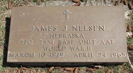 NELSEN, JAMES J. - Burt County, Nebraska   JAMES J. NELSEN - Nebraska Gravestone Photos