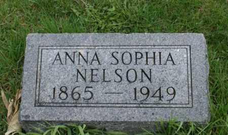 NELSON, ANNA SOPHIA - Burt County, Nebraska | ANNA SOPHIA NELSON - Nebraska Gravestone Photos
