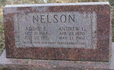 NELSON, ANDREW G. - Burt County, Nebraska | ANDREW G. NELSON - Nebraska Gravestone Photos