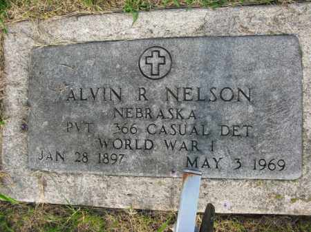 NELSON, ALVIN R. (MILITARY MARKER) - Burt County, Nebraska | ALVIN R. (MILITARY MARKER) NELSON - Nebraska Gravestone Photos