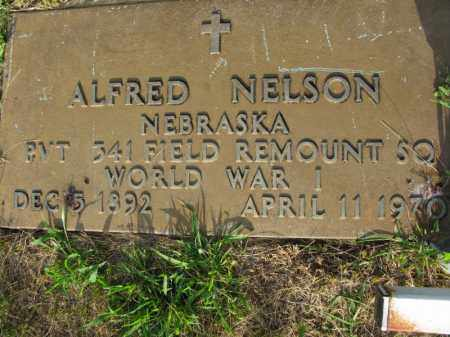NELSON, ALFRED - Burt County, Nebraska | ALFRED NELSON - Nebraska Gravestone Photos