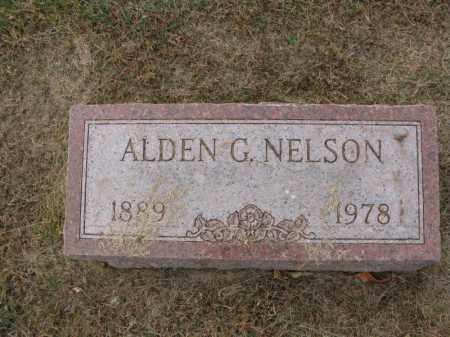 NELSON, ALDEN G. - Burt County, Nebraska | ALDEN G. NELSON - Nebraska Gravestone Photos