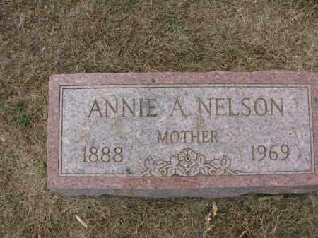 NELSON, ANNIE A. - Burt County, Nebraska | ANNIE A. NELSON - Nebraska Gravestone Photos