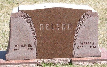 NELSON, ALBERT J. - Burt County, Nebraska   ALBERT J. NELSON - Nebraska Gravestone Photos