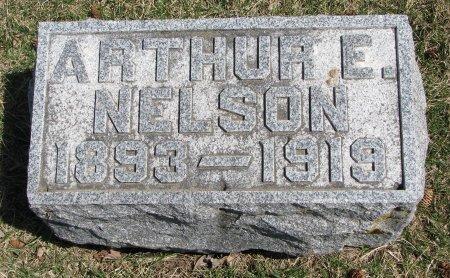 NELSON, ARTHUR E. (FOOT STONE) - Burt County, Nebraska | ARTHUR E. (FOOT STONE) NELSON - Nebraska Gravestone Photos