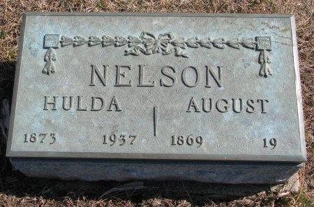NELSON, HULDA MATHILDA - Burt County, Nebraska | HULDA MATHILDA NELSON - Nebraska Gravestone Photos