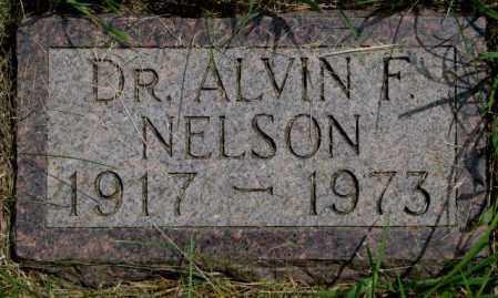 NELSON, ALVIN F. - Burt County, Nebraska   ALVIN F. NELSON - Nebraska Gravestone Photos