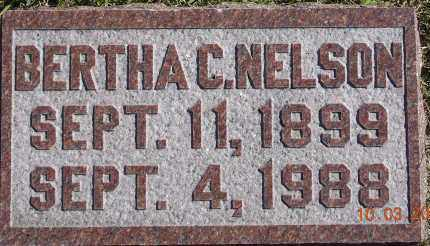 NELSON, BERTHA C. - Burt County, Nebraska   BERTHA C. NELSON - Nebraska Gravestone Photos