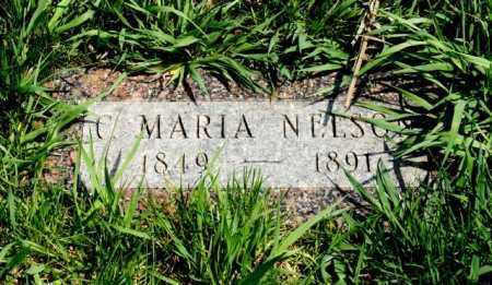 NELSON, C. MARIA - Burt County, Nebraska | C. MARIA NELSON - Nebraska Gravestone Photos