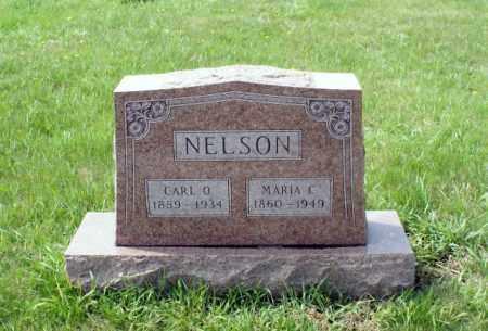 NELSON, MARIA C. - Burt County, Nebraska | MARIA C. NELSON - Nebraska Gravestone Photos