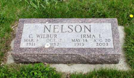 NELSON, IRMA L. - Burt County, Nebraska | IRMA L. NELSON - Nebraska Gravestone Photos