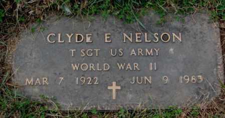 NELSON, CLYDE E.  (WW II) - Burt County, Nebraska | CLYDE E.  (WW II) NELSON - Nebraska Gravestone Photos