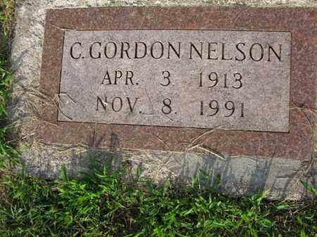 NELSON, C. GORDON - Burt County, Nebraska   C. GORDON NELSON - Nebraska Gravestone Photos
