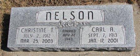 NELSON, CARL A. - Burt County, Nebraska   CARL A. NELSON - Nebraska Gravestone Photos