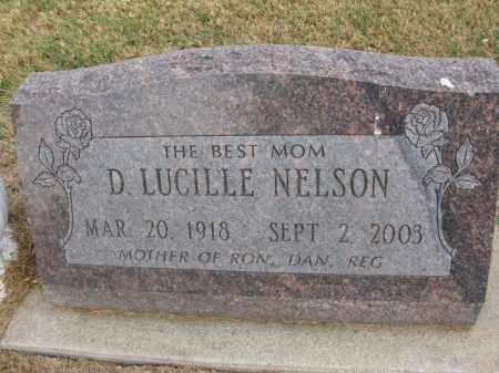 NELSON, D. LUCILLE - Burt County, Nebraska   D. LUCILLE NELSON - Nebraska Gravestone Photos