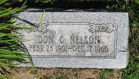 NELSON, DON C. - Burt County, Nebraska | DON C. NELSON - Nebraska Gravestone Photos