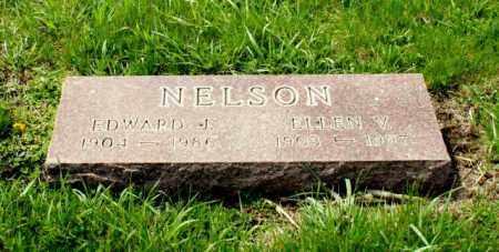 NELSON, ELLEN V. - Burt County, Nebraska | ELLEN V. NELSON - Nebraska Gravestone Photos