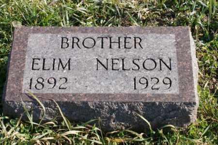 NELSON, ELIM - Burt County, Nebraska | ELIM NELSON - Nebraska Gravestone Photos